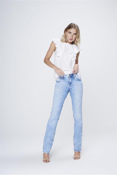 Calca-Jeans-Reta-Basica-de-Cintura-Alta-Frente--