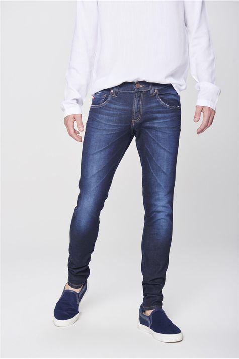 Calca-Jeans-Masculina-Super-Skinny-Frente-1--