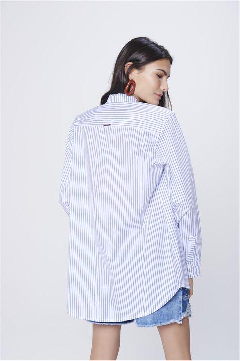 Camisa-Listrada-Feminina-Costas--