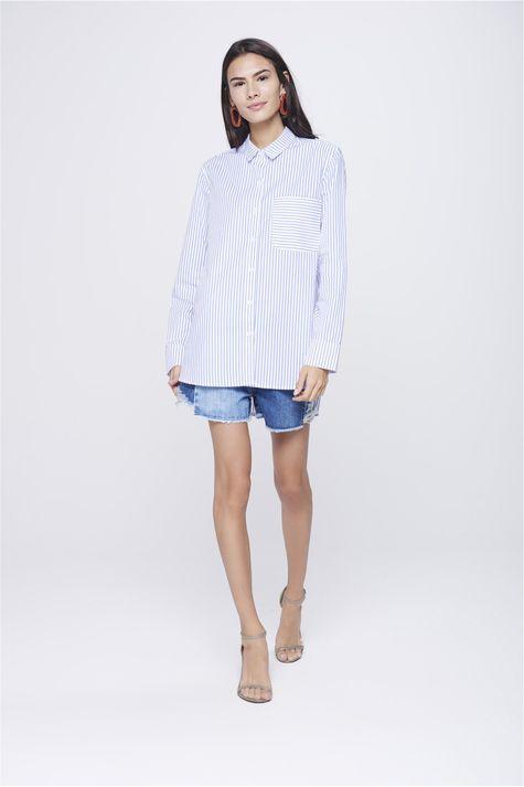 Camisa-Listrada-Feminina-Detalhe-1--