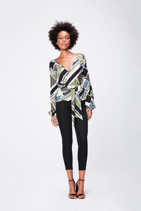 Camisa-Estampada-com-Transpasse-Feminina-Detalhe-1--