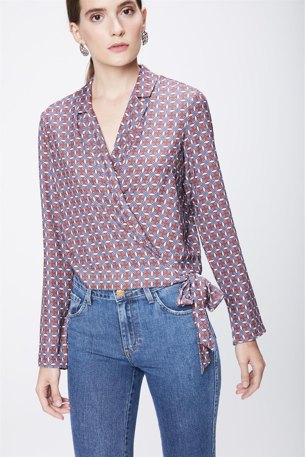 Camisa-Estampada-Feminina-com-Transpasse-Frente--