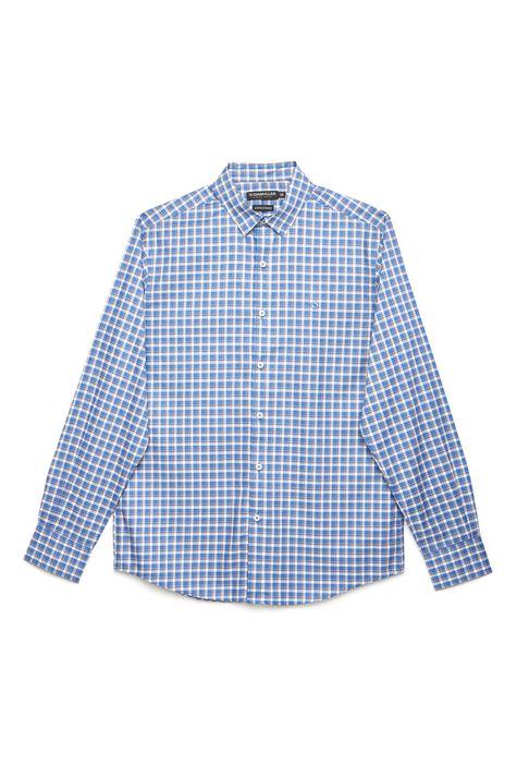 Camisa-Social-Xadrez-de-Algodao-Peruano-Detalhe-Still--