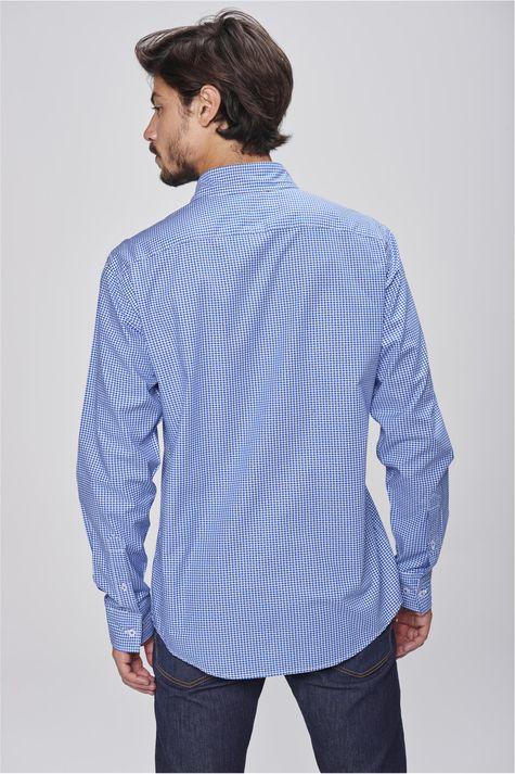 Camisa-Social-Xadrez-Azul-Branco-Costas--