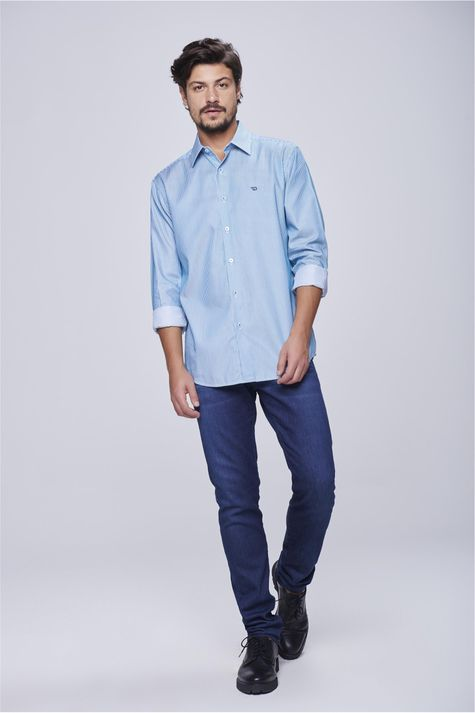 be4e6370b19f ... Camisa-Social-Listrada-Masculina-Detalhe-1-- ...
