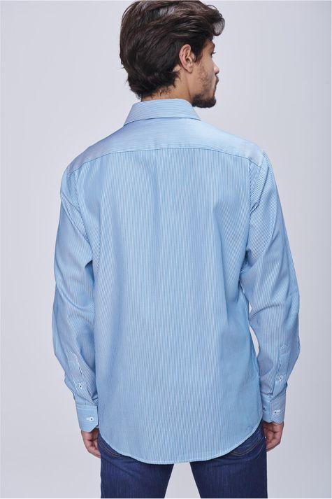 Camisa-Social-Listrada-Masculina-Costas--