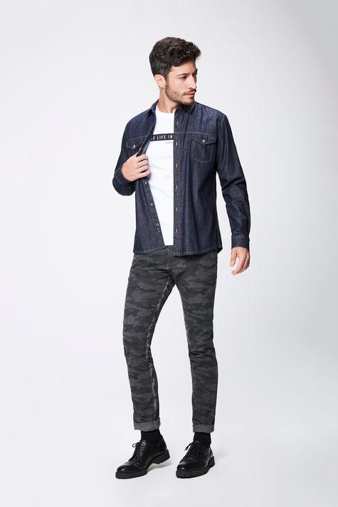 Camisa-Jeans-Escuro-Masculina-Detalhe-1--