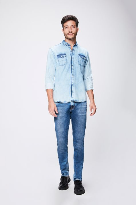 Camisa-Jeans-Claro-Masculina-Detalhe-1--