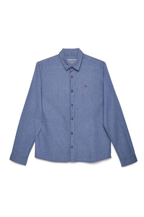 Camisa-Jeans-Estampada-Masculina-Detalhe-Still--