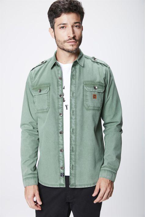 Camisa-Verde-Masculina-Frente--