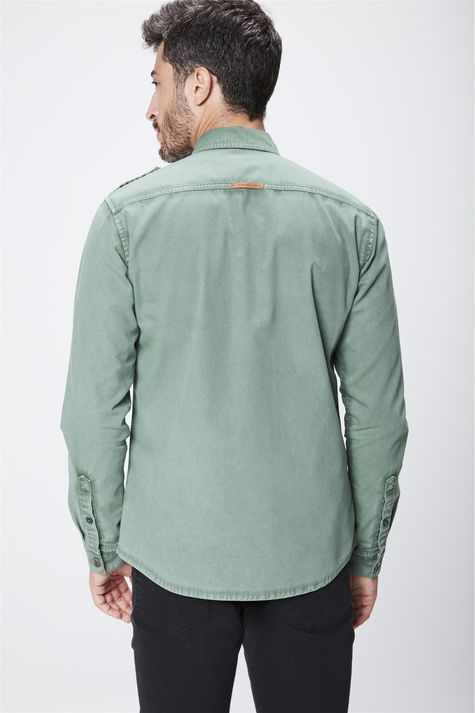 Camisa-Verde-Masculina-Costas--