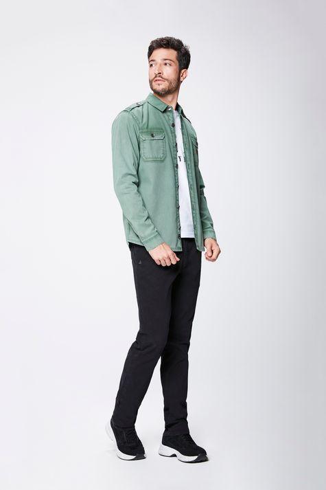 Camisa-Verde-Masculina-Detalhe-1--