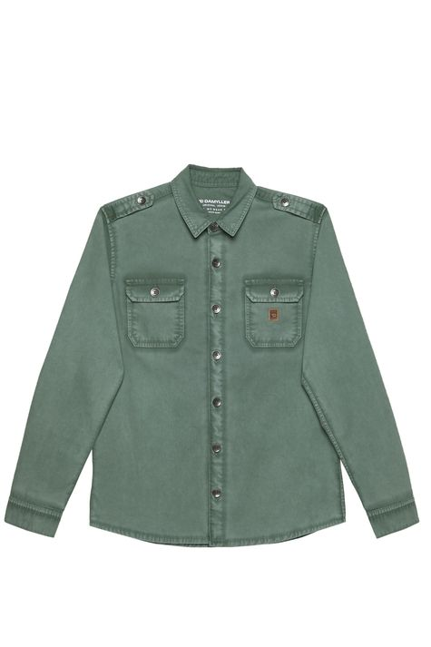 Camisa-Verde-Masculina-Detalhe-Still--