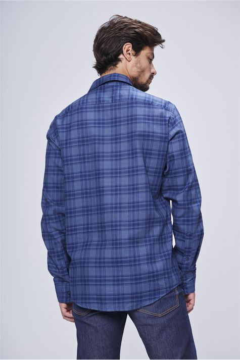 Camisa-Social-Xadrez-Masculina-Costas--