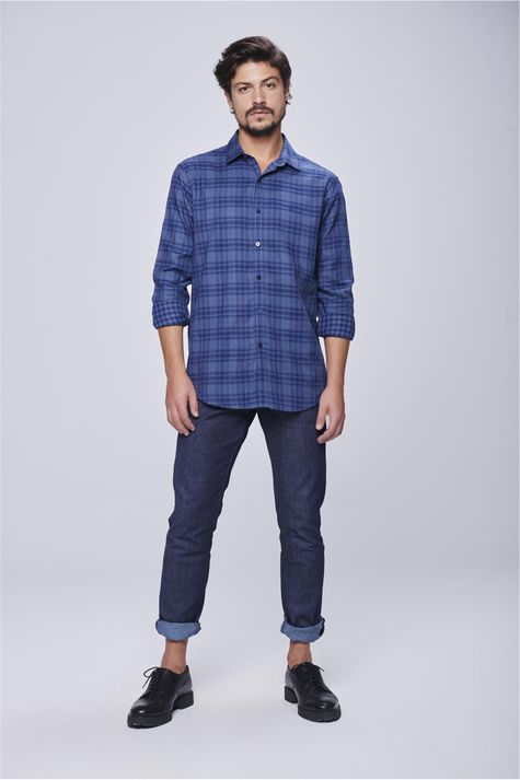 Camisa-Social-Xadrez-Masculina-Detalhe-1--