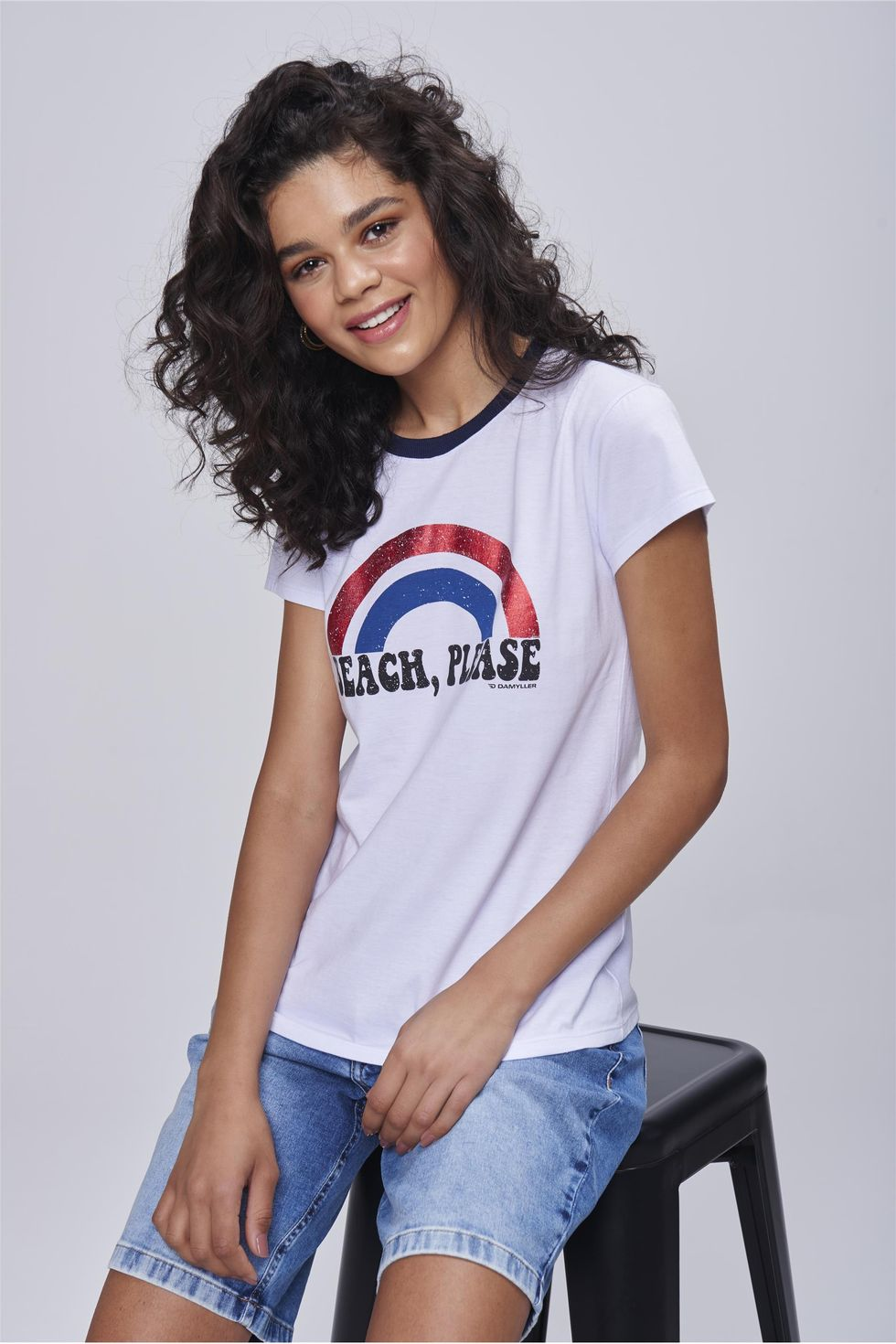 Camiseta-com-Estampa-Metalizada-Beach-Frente--