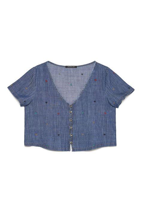 Blusa-Jeans-Bordada-Feminina-Detalhe-Still--
