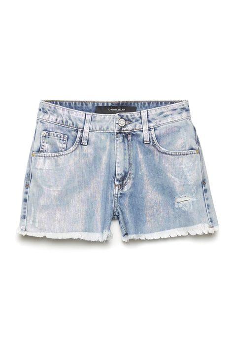 Short-de-Cintura-Alta-com-Foil-Furta-Cor-Detalhe-Still--