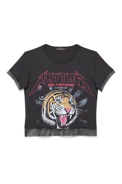 Camiseta-Estampada-com-Detalhe-de-Tela-Detalhe-Still--