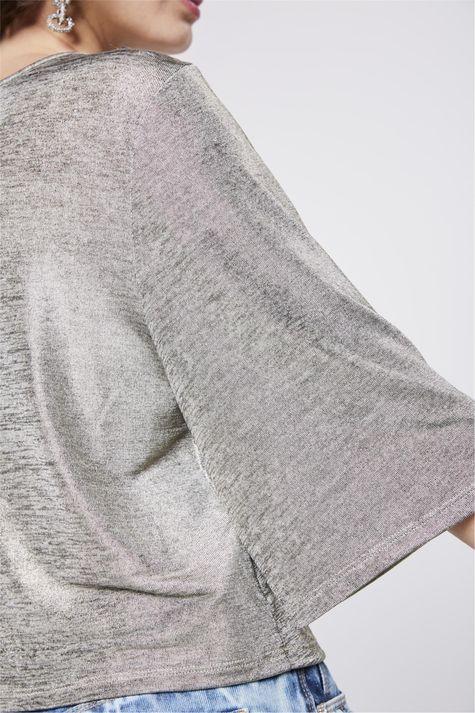 Blusa-Boxy-Metalizada-Feminina-Detalhe--