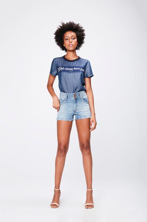 Short-Jeans-com-Cintura-Alta-Feminino-Detalhe-2--