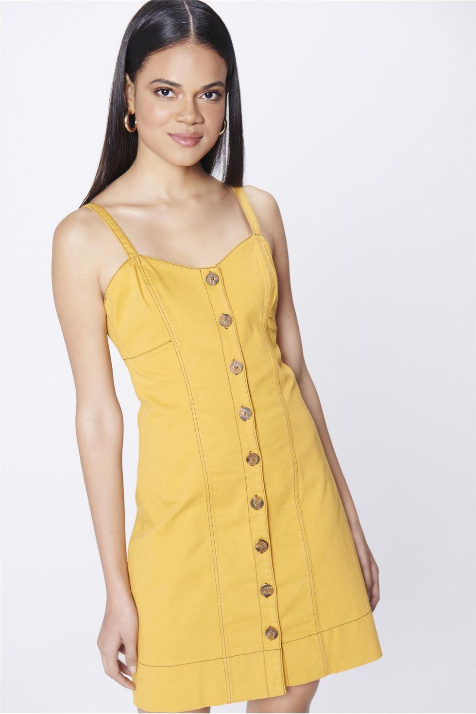 Vestido-Color-com-Recorte-e-Botoes-Frente--