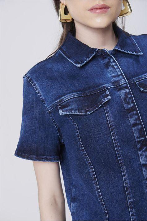 Jaqueta-Trucker-Jeans-com-Mangas-Curtas-Detalhe--