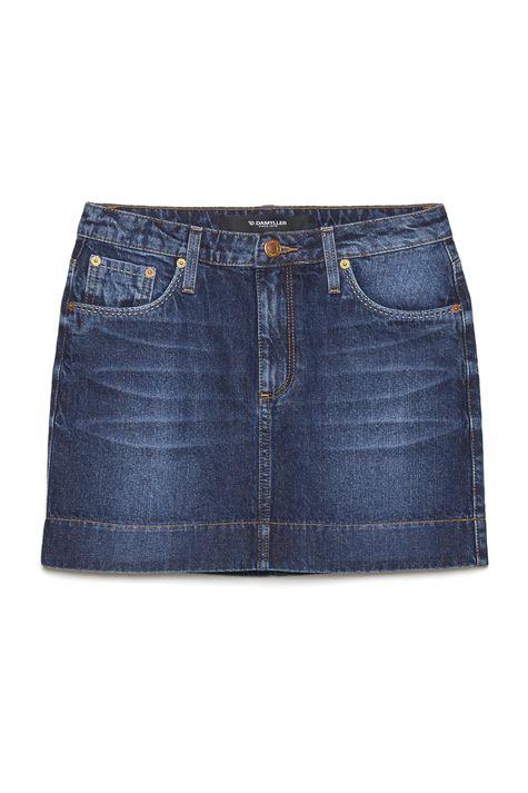 ffa21ea07 ... Saia-Jeans-Mini-com-Etiqueta-no-Bolso-Frente-