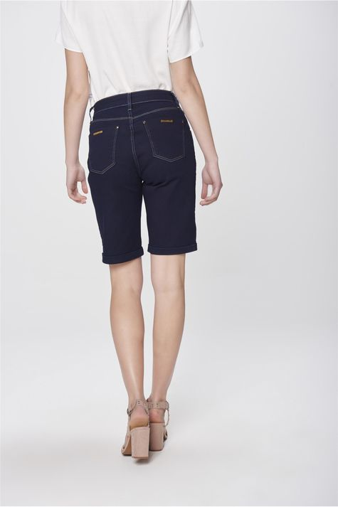 Bermuda-Jeans-Cintura-Alta-Feminina-Costas--