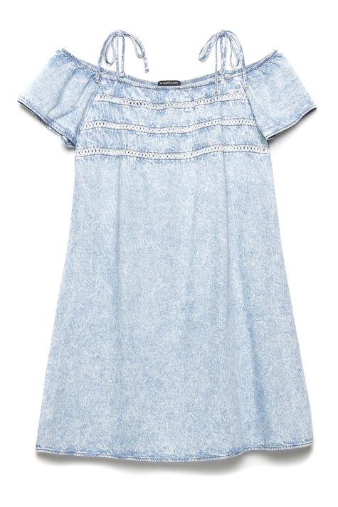 Vestido-Jeans-Ombro-a-Ombro-Feminino-Detalhe-Still--