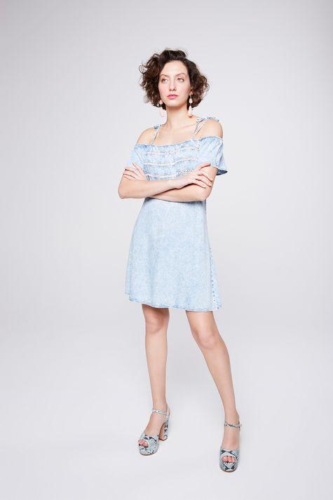 Vestido-Jeans-Ombro-a-Ombro-Feminino-Detalhe-1--