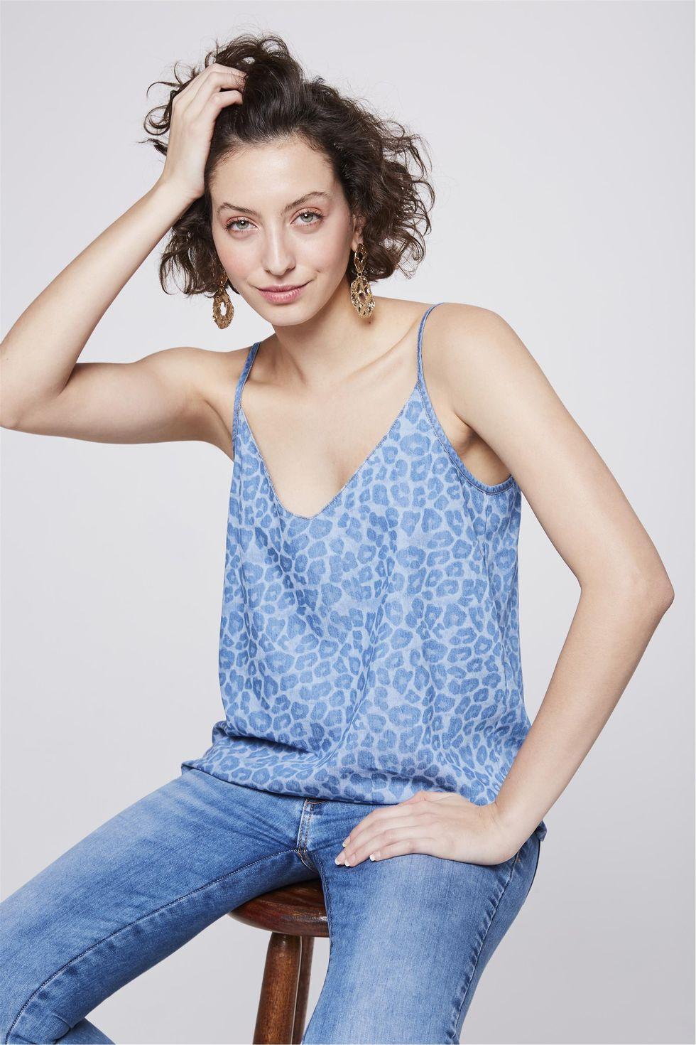 Blusa-de-Alca-Jeans-Animal-Print-Frente--