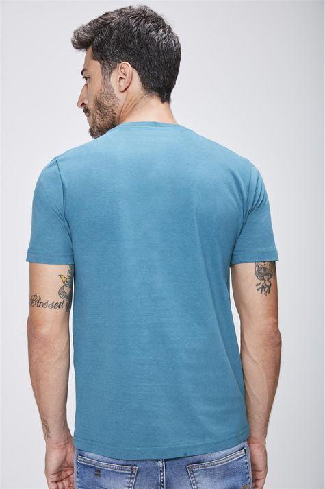 Camiseta-Gola-V-Basica-Masculina-Costas--