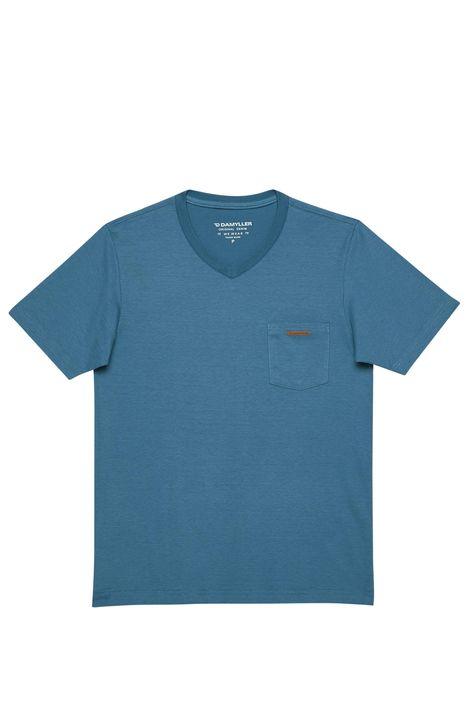 Camiseta-Gola-V-Basica-Masculina-Detalhe-Still--