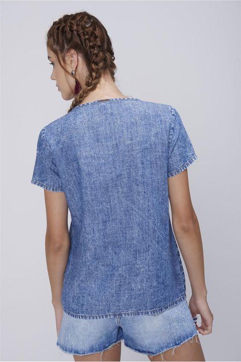 Camiseta-Feminina-Jeans-Estampa-Freedom-Costas--