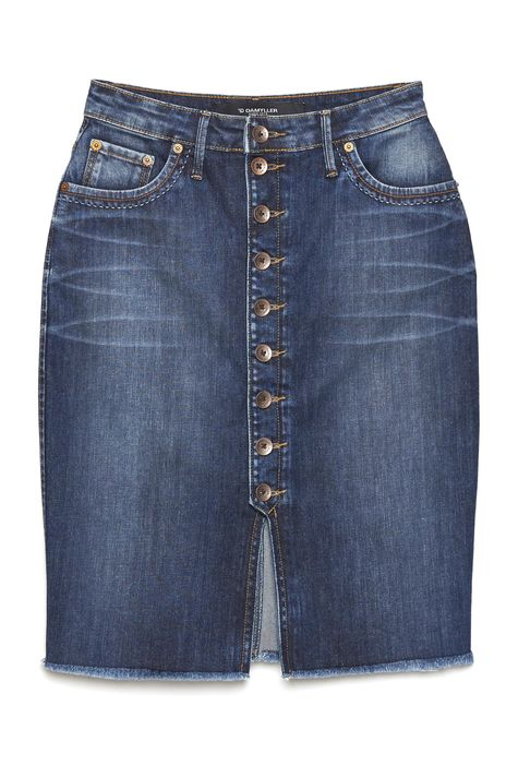 Saia-Secretaria-Jeans-com-Abotoamento-Detalhe-Still--
