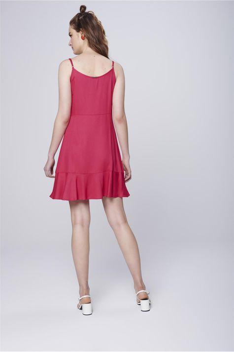 Vestido-Feminino-Curto-Botoes-Frontais-Costas--