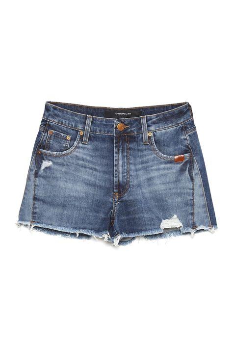 Short-Jeans-de-Cintura-Alta-com-Recortes-Detalhe-Still--