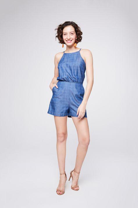 Macacao-Jeans-Xadrez-Curto-Feminino-Detalhe-1--