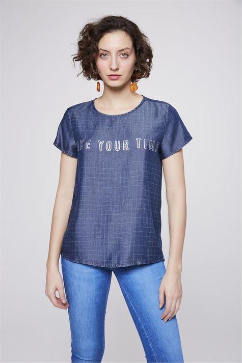 Camiseta-Jeans-Xadrez-com-Tipografia-Frente--