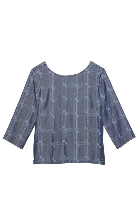 45dd5e0988 ... Blusa-Jeans-com-Padronagem-Geometrica-Frente--