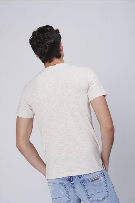 Camiseta-Masculina-Mistura-de-Tecidos-Costas--