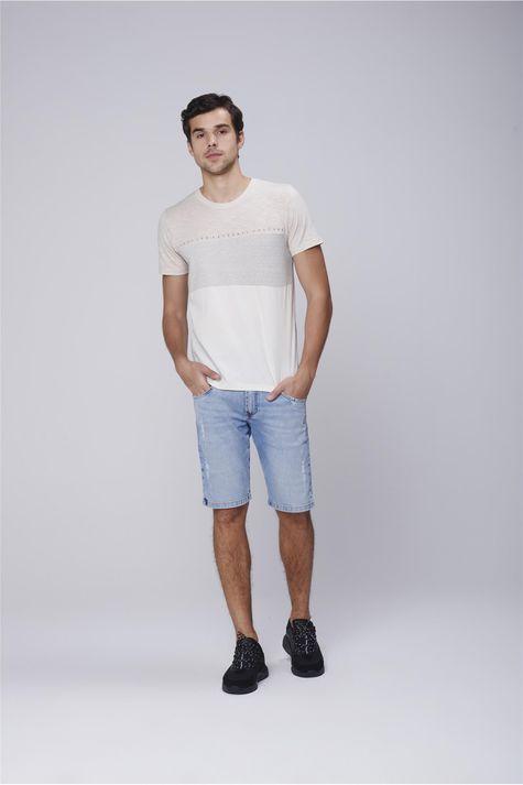 Camiseta-Masculina-Mistura-de-Tecidos-Detalhe-2--
