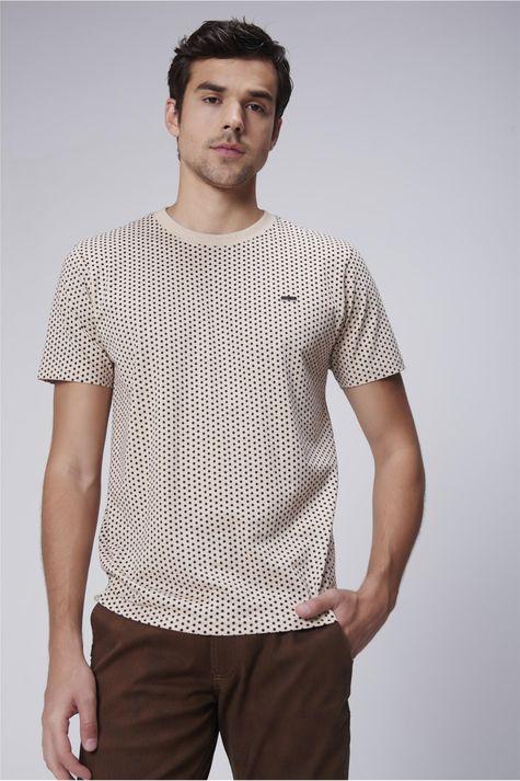 Camiseta-Masculina-Estampa-Repeticao-Frente--