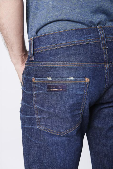 Bermuda-Skinny-Jeans-Masculina-Detalhe--