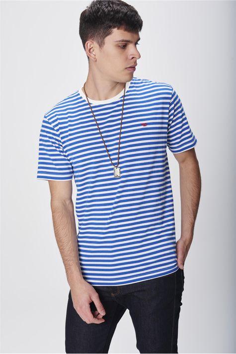 Camiseta-Listrada-com-Colar-Masculina-Frente--