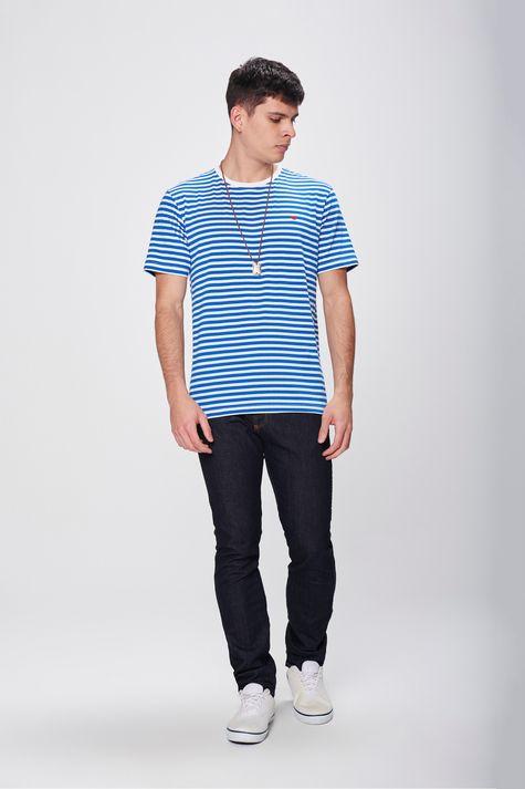 Camiseta-Listrada-com-Colar-Masculina-Detalhe-1--