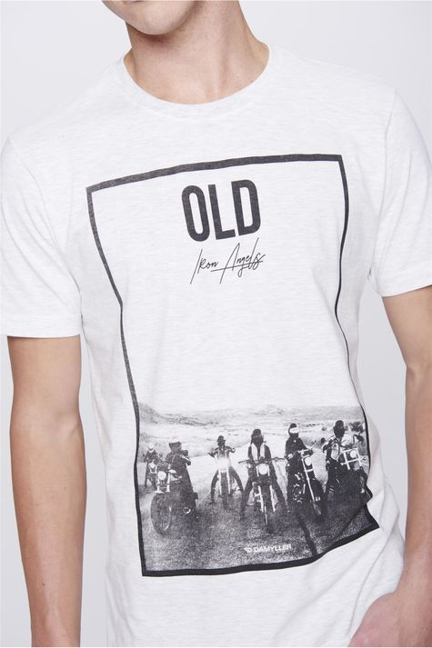 Camiseta-Malha-Mescla-Masculina-Detalhe--