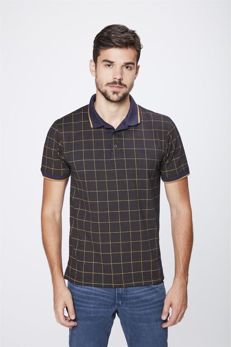 Camisa-Gola-Polo-Xadrez-Masculina-Frente--