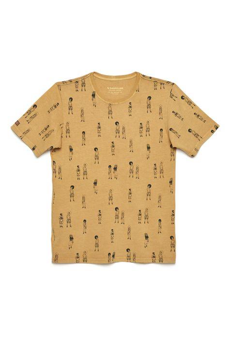 Camiseta-Unissex-Estampa-Repeticao-Detalhe-Still--